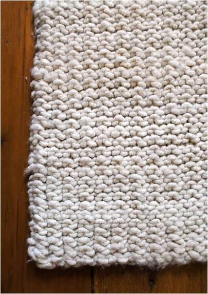 Big Stitch Knitting Patterns : Does My Very Talented Mom-Mom Knit Rugs Too? bevanddara