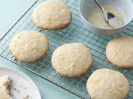 Giada's Lemon Ricotta Cookies with Lemon Glaze