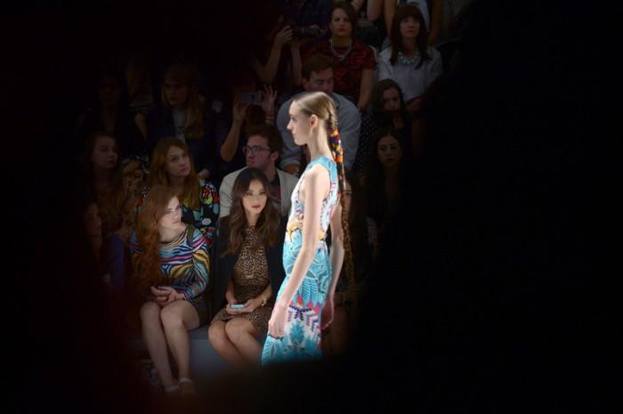 Mara Hoffman - Front Row - Mercedes-Benz Fashion Week Spring 2014